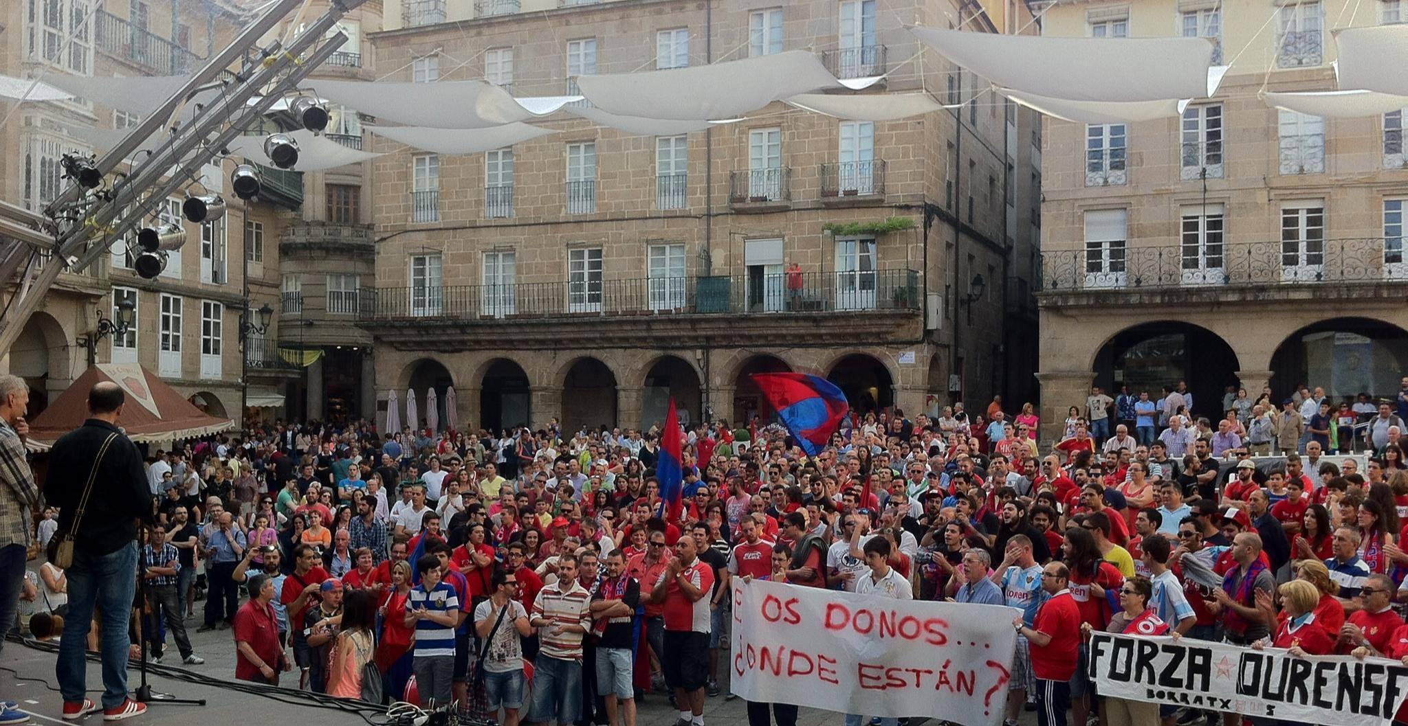 Aficion del CD Ourense