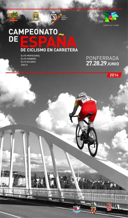 Campeonato de España de Ciclismo de Carretera Ponferrada 2014