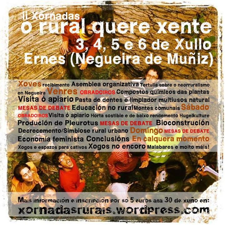 II xornadas rurais en Negueira de Muñiz (Lugo)