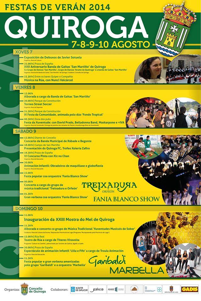 Festas de Verán 2014 Quiroga