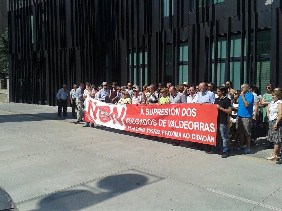 Manifestación O barco Cierre Juzgados