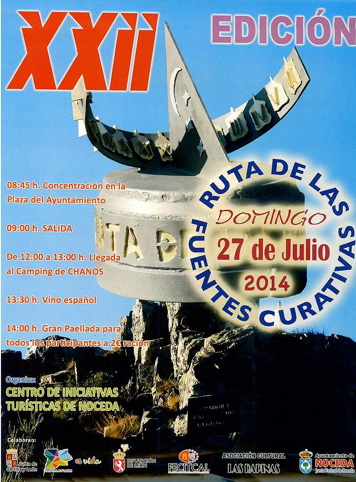 XXII edición de la ruta de las Fuentes Medicinales de Noceda del Bierzo