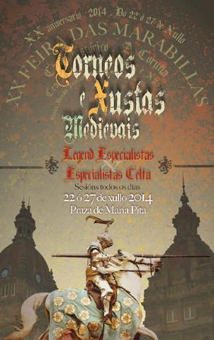 Cartel de Justas Medievales 2014