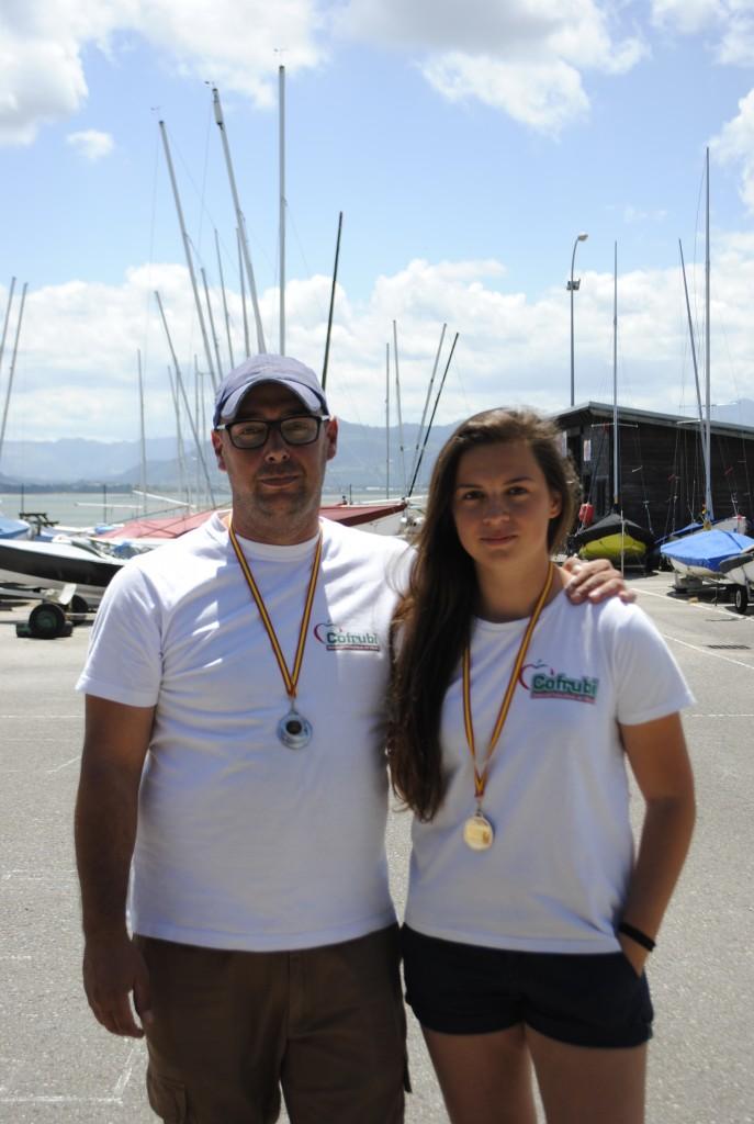 Su tercer puesto en Santoña