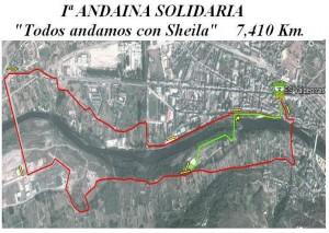 I Andaina Solidaria Todos Andamos con Sheila