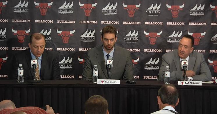 Presentacion Pau Gasol Chicago Bulls