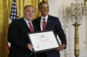 chef Jose Andres y Obama