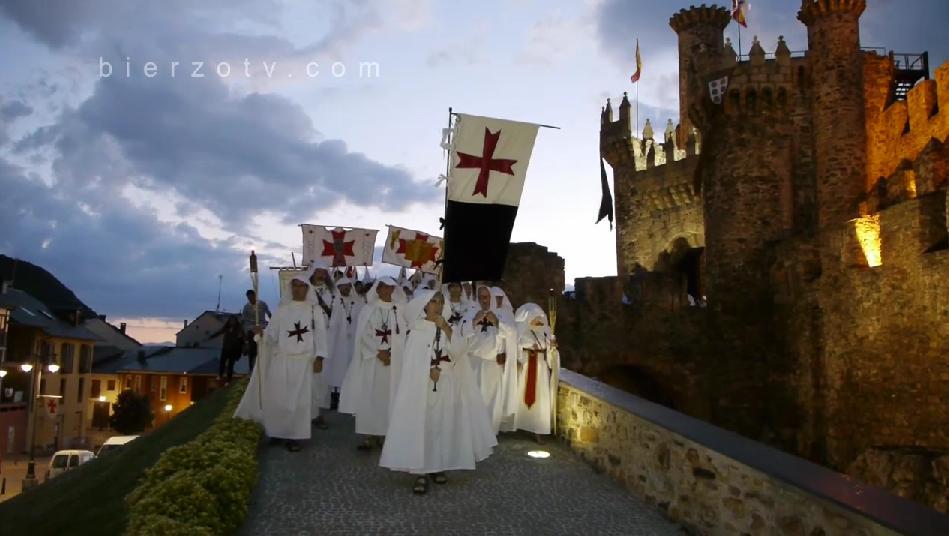 desfile de la Noche Templaria
