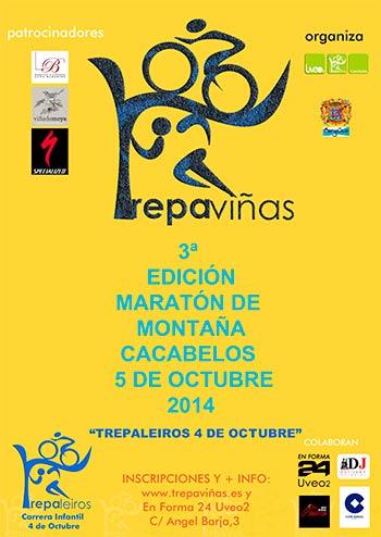 Cartel 3 edición Trepavinas