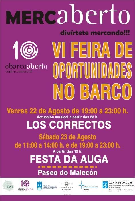 Mercaberto : VI Feira de Oportunidades en O Barco