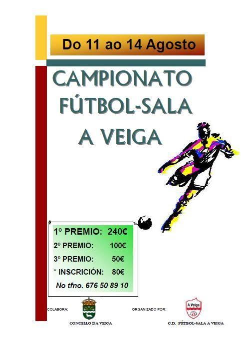 Campionato de Futbol - Sala  A Veiga