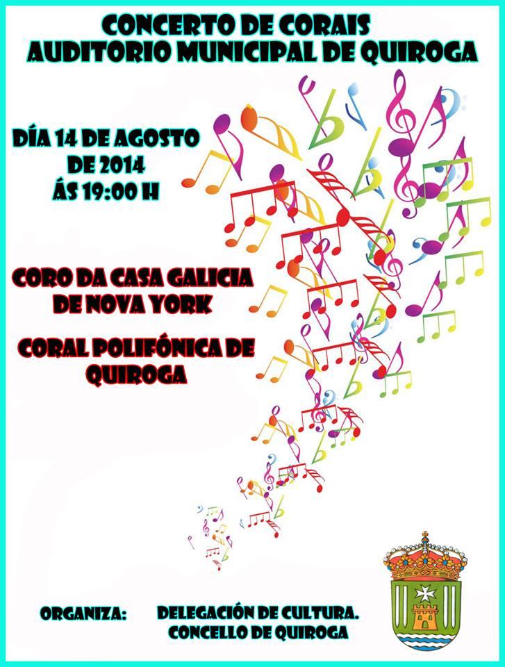 Concerto de Corais en Quiroga