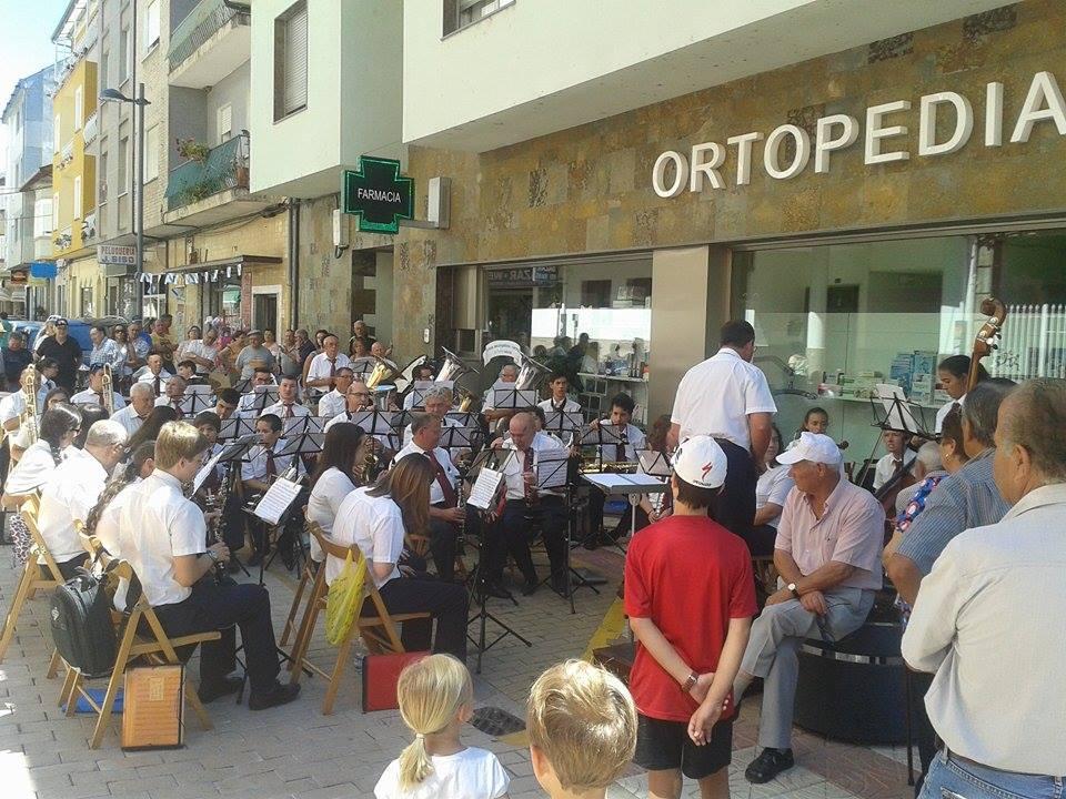 Concierto de la Banda de Noia en A Rua