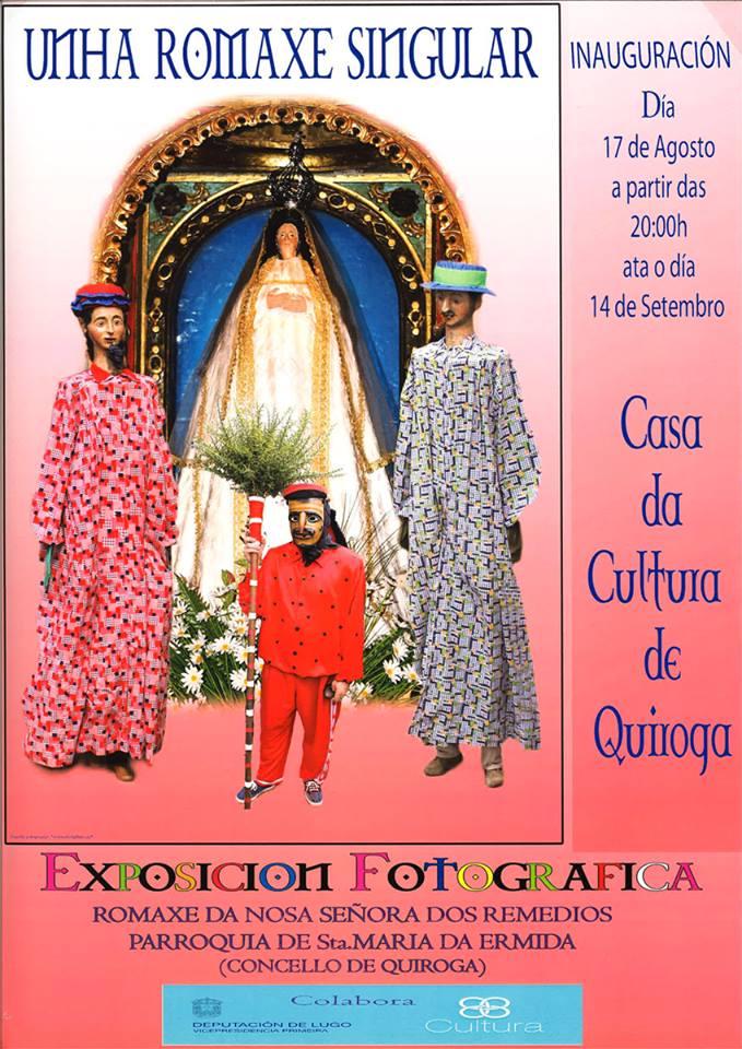 Exposición fotográfica 'Unha romaxe singular' na Casa da Cultura de Quiroga