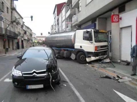 Accidente en Xinzo de Limia
