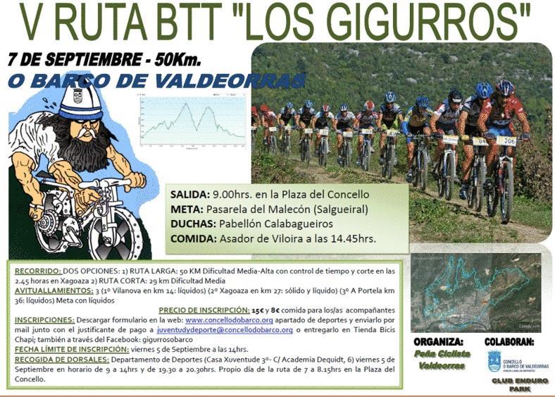 V Ruta BTT 'Los Gigurros'