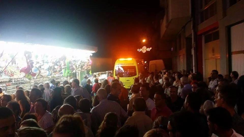 Ambulancia en A Rua