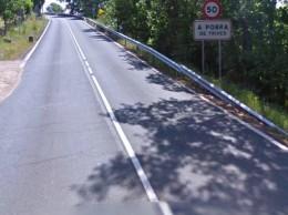 Carretera en Trives