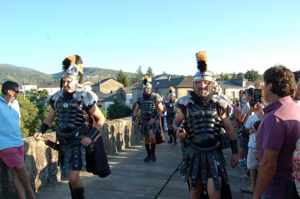 Legiones romanas en la Bacofesta