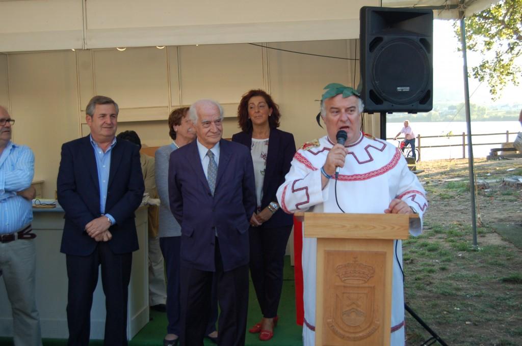 Alcalde de A Rua presentacion Bacofesta