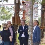 Delegado Territorial de la Xunta visita Oca Nova Manzaneda