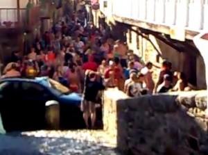 Fiesta del Agua en Molinaseca