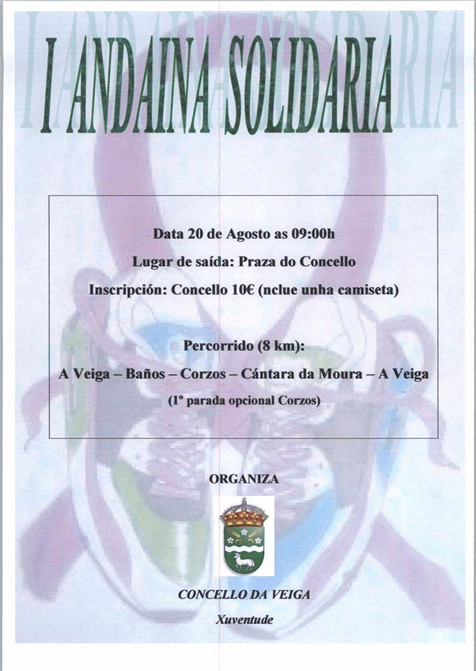 I Andaina Solidaria A Veiga
