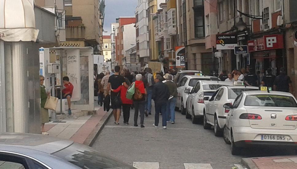 Manifestación ciudadana Coruna