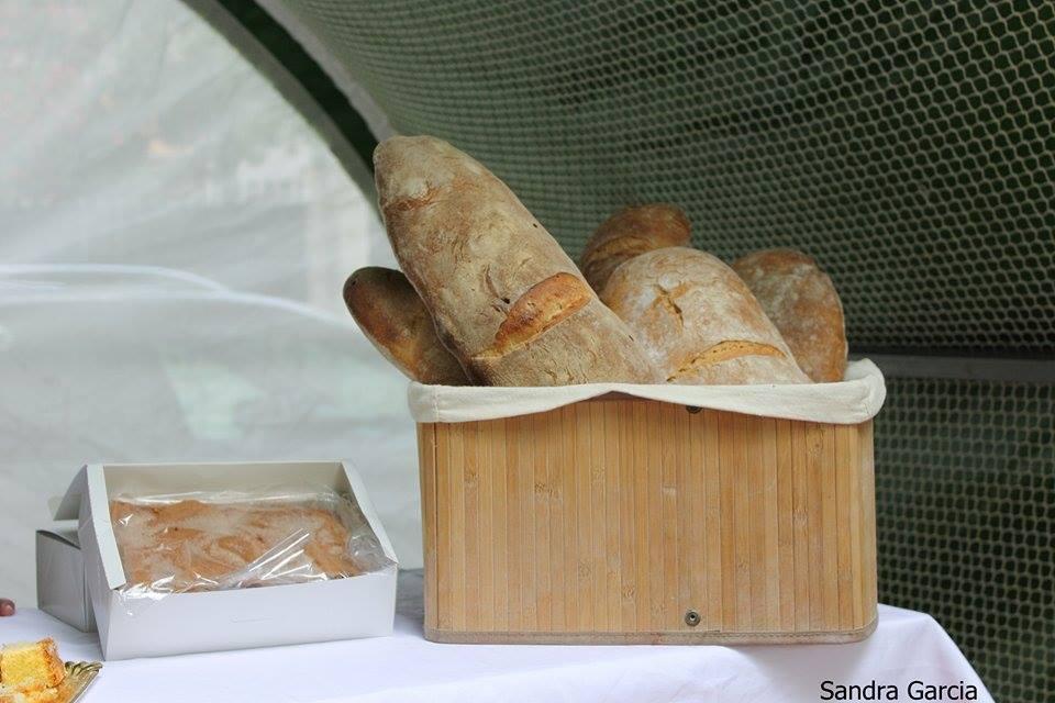 Puesto de pan en el Salón Gastronómico de O Barco