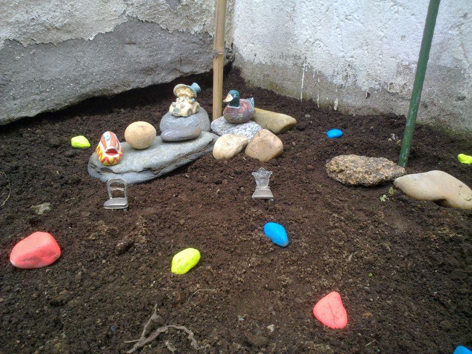 Un trocito de mi terraza-jardín