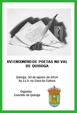 XVI Encontro de Poetas no Val de Quiroga