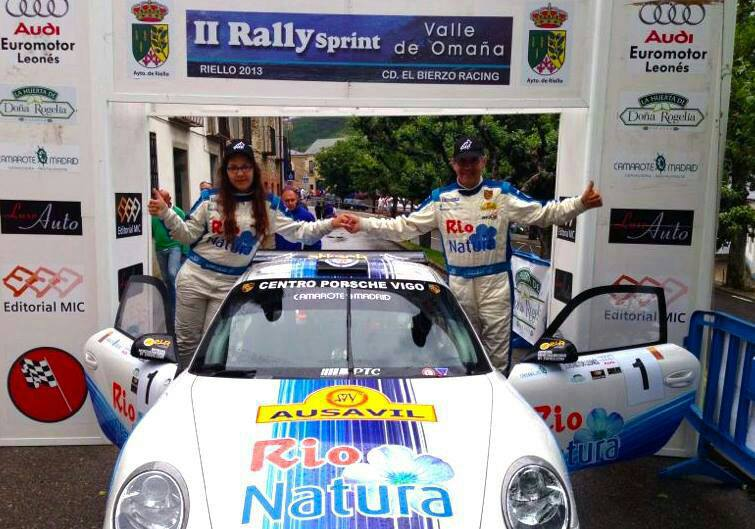 Andrea Lamas, triunfadora junto a Sergio Vallejo