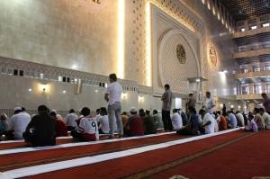 mezquita orando