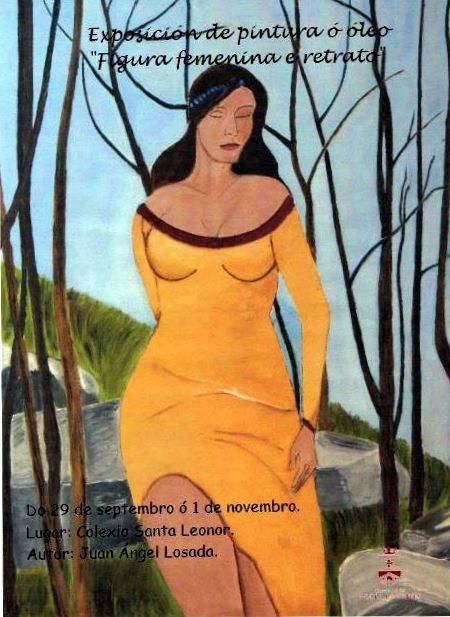 Exposición de pintura ao oleo en Trives