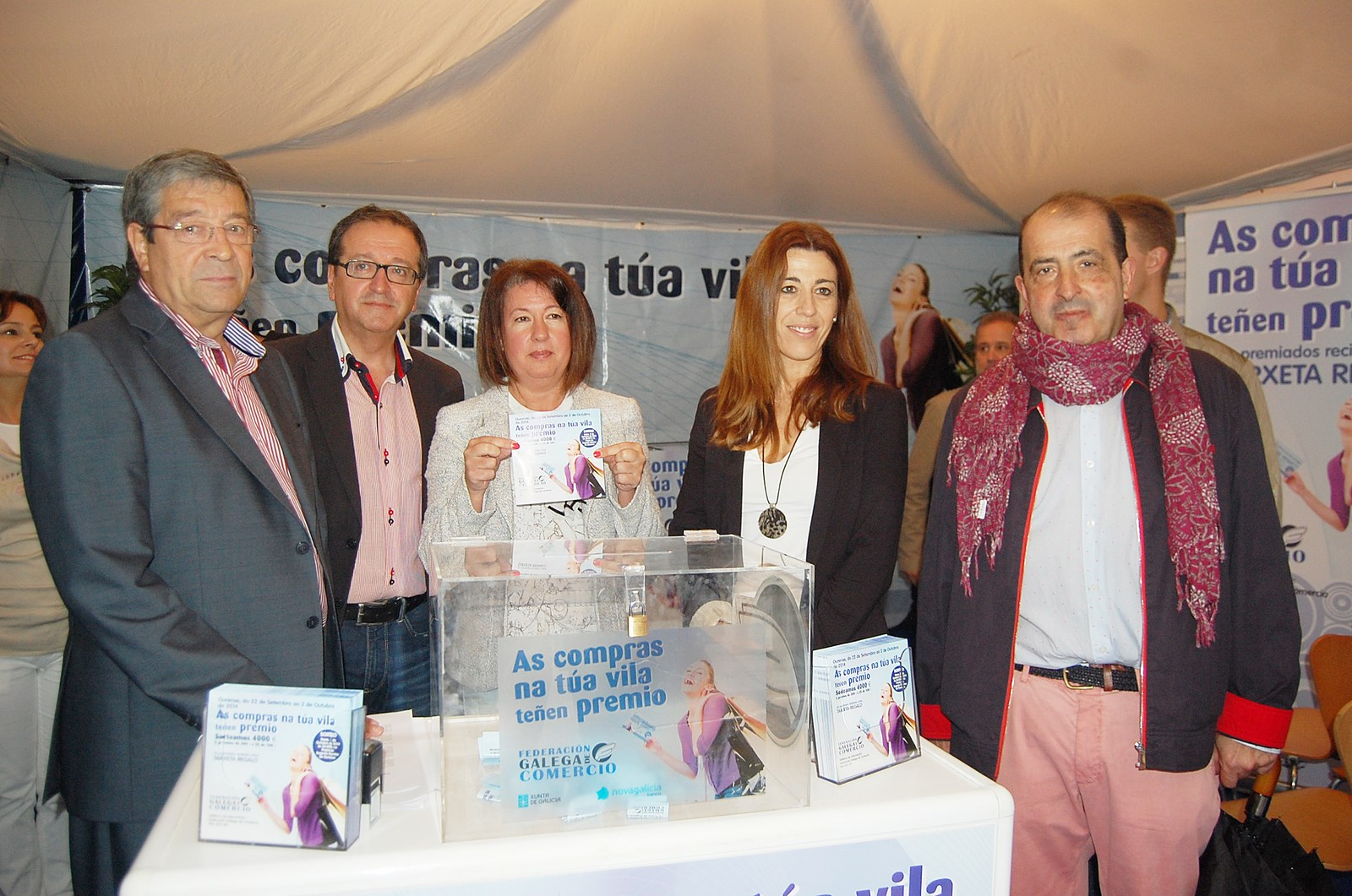 A directora xeral de Comercio, Sol Vázquez Abeal, participou na presentación desta campaña posta en marcha pola Federación Galega de Comercio coa colaboración da Consellería de Economía e Industria. Foto: Xunta