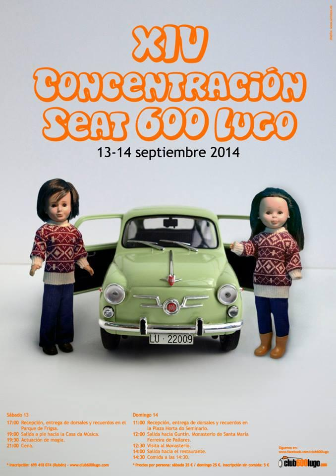 Concentración de Seat 600
