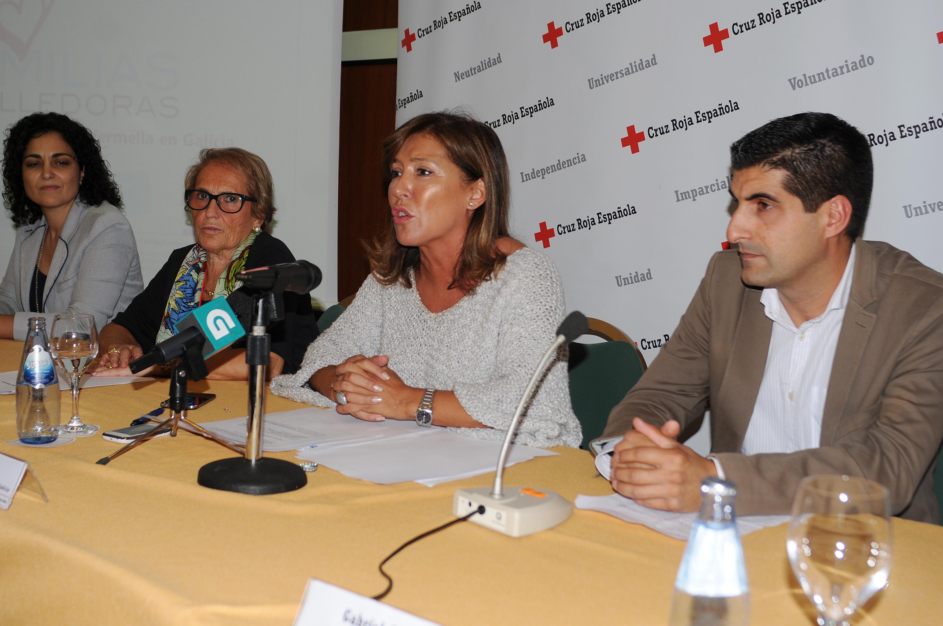 Mato no Encontro anual de familias acolledoras. Foto: Xunta