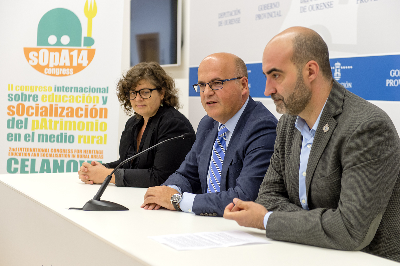 Sabah Walid, Manuel Baltar e José Luis Ferro