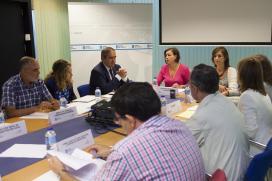A secretaria xeral da Igualdade, Susana López Abella, presidiu esta mañá a constitución dos tres grupos de traballo designados no seo do Observatorio Galego da Violencia de Xénero  Autor: Xoán Crespo