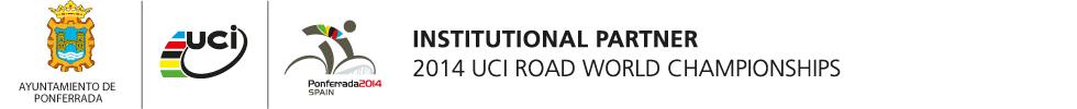 logo mundial ciclismo Ponferrada 2014