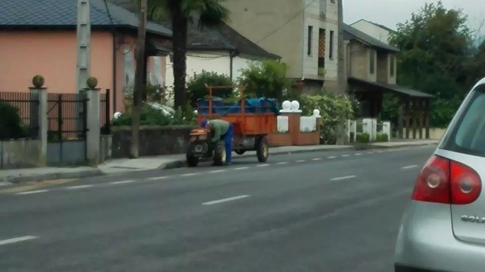 Tractor de pequeña cilindrada