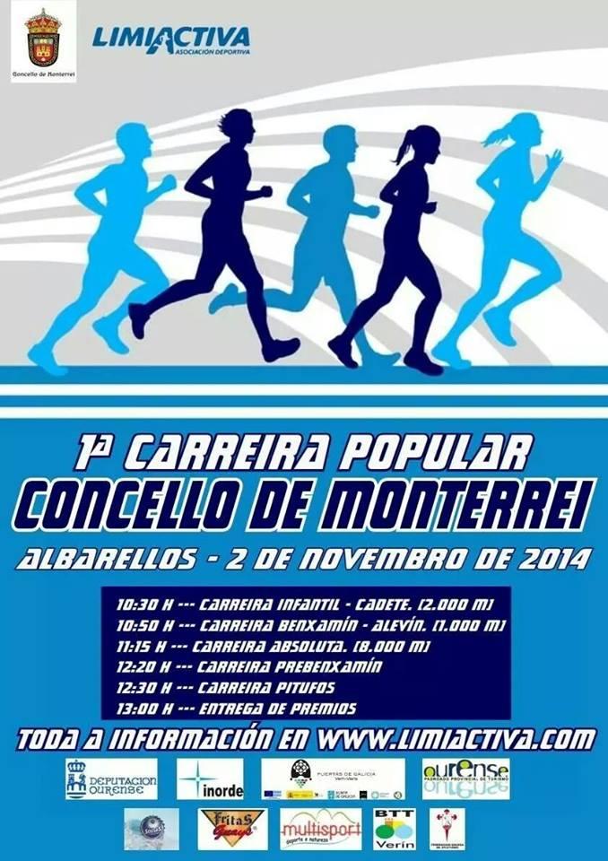1º carreira popular Concello de Monterrei