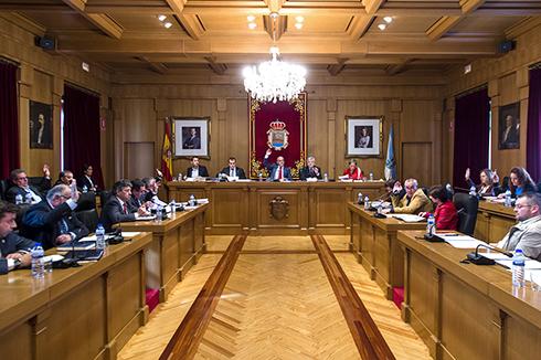 A Corporación provincial aprobou tamén o Himno oficial da provincial de Ourense