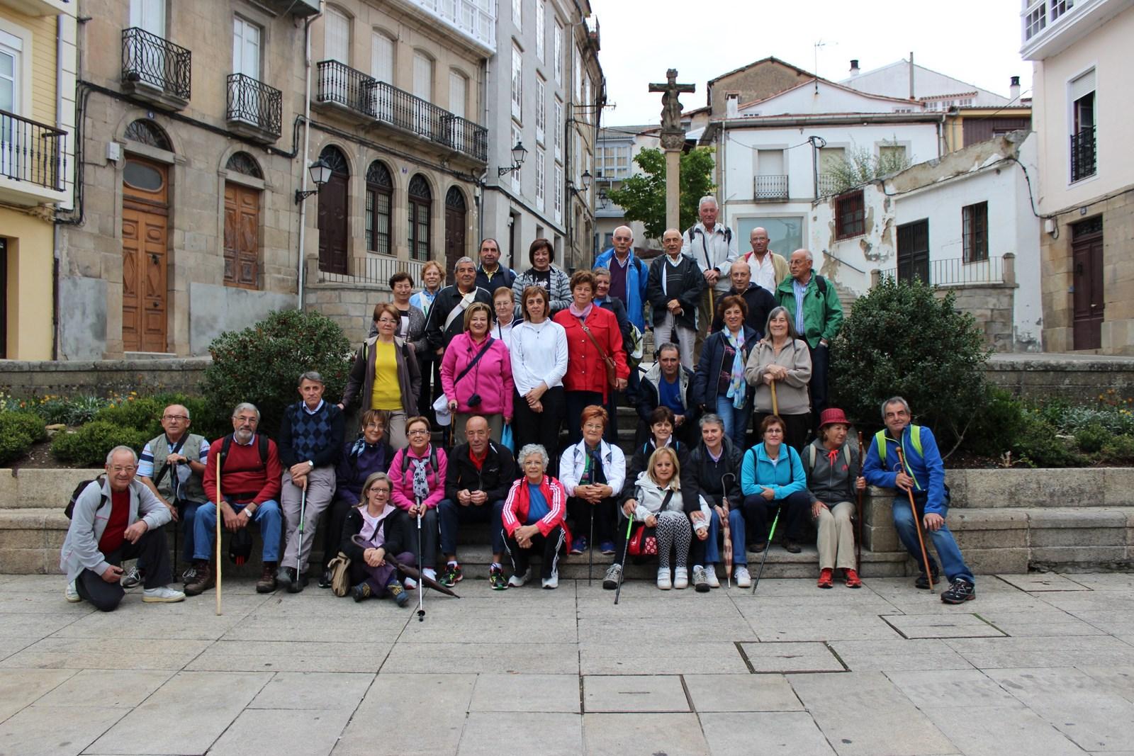 A delegada territorial da Xunta en Lugo participa na camiñata pola Ribeira Sacra