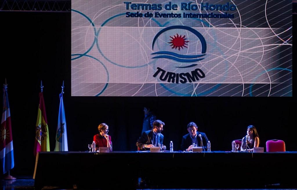 A directora de Turismo de Galicia, Nava Castro, durante a súa intervención Foto: Xunta