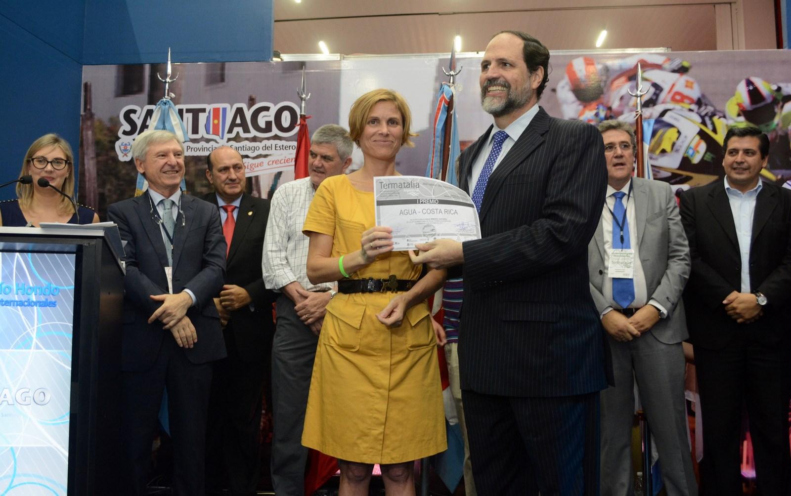 A directora de Turismo de Galicia, na clausura de Termatalia