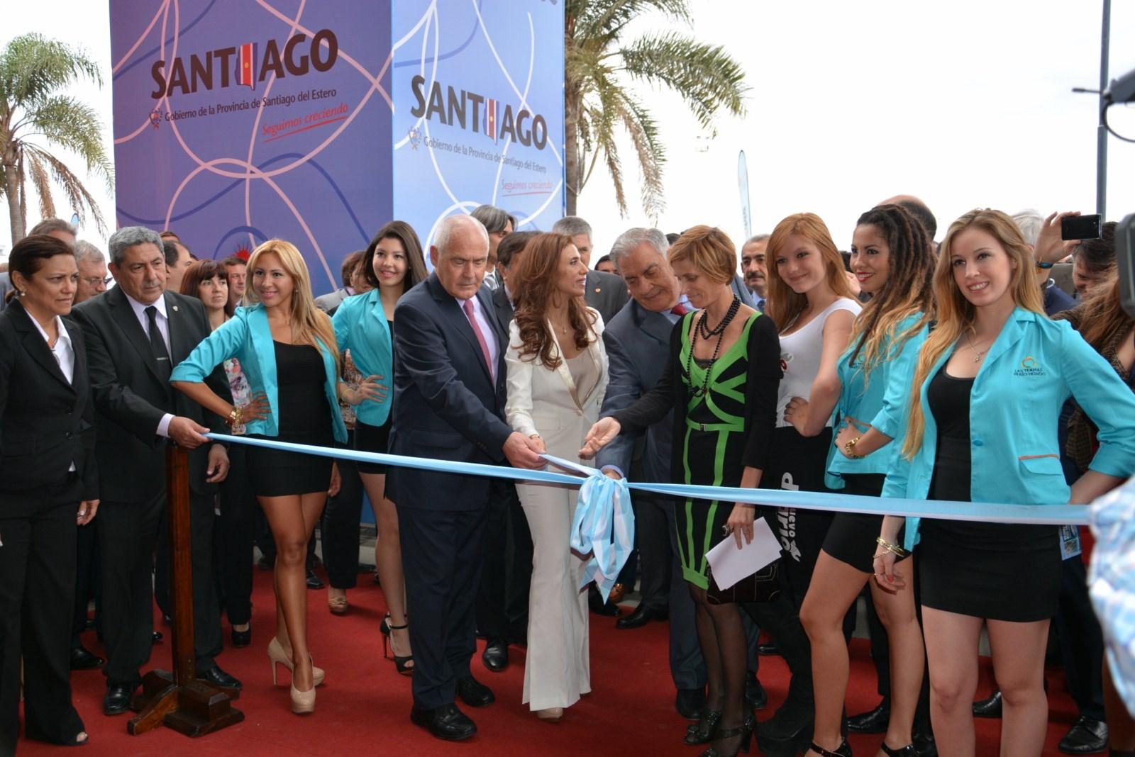 A inauguración oficial de Termatalia contou coa presenza da directora de Turismo de Galicia, Nava Castro