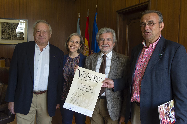 Florencio de Arboiro, Mariló Fernández, Rosendo Fernández e Xosé Manuel Cid