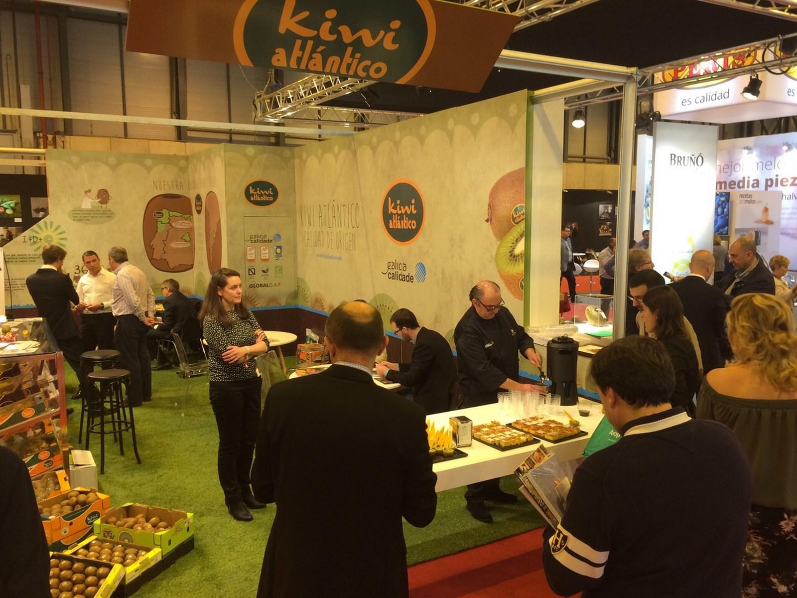 Galicia Calidade promociona os produtos galegos na feira internacional Fruit Attraction en Madrid