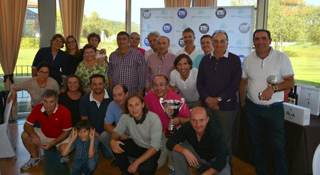 Celebración del I Desafío Valdeorras vs Ribeira Sacra de golf